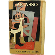 SOLD Picasso, by Gertrude Stein, 1939, Charles Scribner's Sons, Printed in London