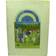 The Tres Riches Heures of Jean, Duke of Berry, Slipcase, 1969, Art of the Illuminated ...