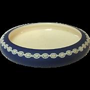 "Dudson Handley, Jasperware, Made in England, Low Bowl, 8 1/4"""