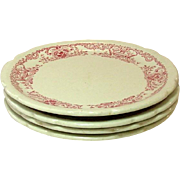 Walker China Co., Bedford, Ohio, Restaurant Ware, Plates