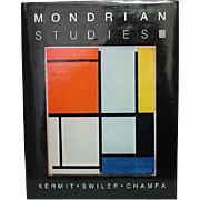 Studies of Dutch Artist Piet Mondrian, by K.S. Champa, 1985, Abstract Paintings