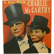 A Day with Charlie McCarthy and Edgar Bergen, by Eleanor Packer, 1938 ~ Illustrated, Starlets