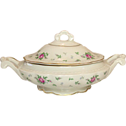 Princess China, TruTone USA, Sweet Briar Pattern, Covered Server, Mid 20th Century