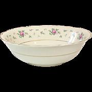 Princess China, TruTone USA, Sweet Briar Pattern, Round serving Bowl, Mid 20th Century