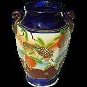"Made in Japan ~ Handpainted Moriage Vase ~ 7"""