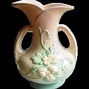 "Hull Art Pottery ~ Wildflower Vase ~ 7 1/2"" ~ 1946-1947"