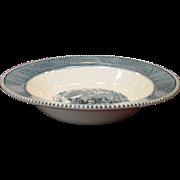 "SOLD Royal China ~ Currier & Ives ~ 9"" Vegetable Serving Bowls"