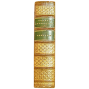 SOLD The French Revolution: A History by Carlyle - Full Leather - Antique