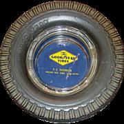Good Year Tires Advertising Ashtray, Super Cushion Tire