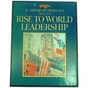 The Rise of America to World Leadership, Civil War to WWI, 2 Vols.