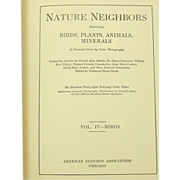 Nature Neighbors, Vol. IV - Birds, 1914, Audubon Assoc., Illustrated