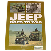 Jeep Goes to War, Fowler, illustrated, The Military Book Club
