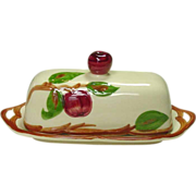 SOLD Franciscan China, Apple Pattern, Covered Butter, Made in U.S.A.