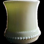 'Washington, Late' eapg pattern toothpick, custard, U.S. Glass Co. States series