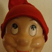 REDUCED Vintage Dopey Dwarf (Snow White) Doll Madame Alexander Composition