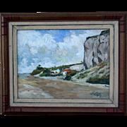 SALE PENDING Superb impressionist European Master painting by Danish Master Ernst Syberg ( 190