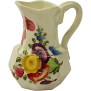 "SALE PENDING English Circa 1815 Miniature 2"" Porcelain Jug Doll's House Size Regency Peri"