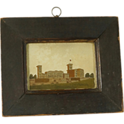 Circa 1848 Sand Picture Osborne House Queen Victoria's Home English
