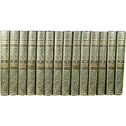 SALE PENDING The Works of William Shakespeare Henry Irving Complete 14 Volume Set Circa 1910