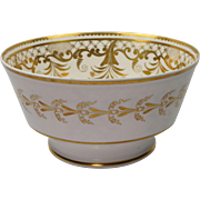 English Spode Porcelain Bowl Pattern 2790 Circa 1817