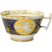 RARE Regency Period Coalport Treaty Of Paris Tea Cup Circa 1814 Napoleonic Wars