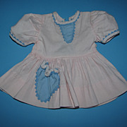 Pink & Blue Baby Doll Dress