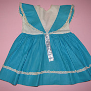 1950's Factory Doll Dress - Tagged