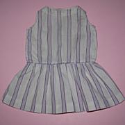 Purple Striped Doll Dress - Drop Waist