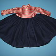 Vintage Factory Doll Dress
