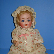 German Character PM Bisque Baby - Cabinet Size Doll