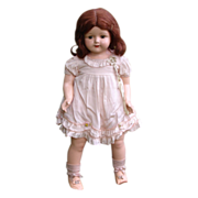"""SOLD 26"""" Effanbee All Original Rosemary Composition Doll - Large Girl"""