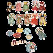 Antique Victorian Era Paper Dolls