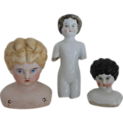 China Doll Heads/Parts For TLC