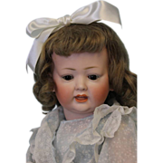 """SALE 16"""" Antique Bisque Kley & Hahn 161 character doll Crier Mech.in head Orig.Body-"""
