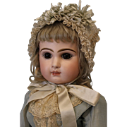 "SALE 24"" 1885 Antique C/M French Bisque Size 11 Tete Jumeau Doll correct Adult ..."