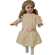"SALE c.1900 Antique 9"" German Bisque Doll Marked 40 R. DEP 9/0"