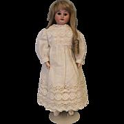 "SALE 18"" Armand Marseille DEP 3500 German Bisque Antique Doll c.1910 Kid Leather Body"