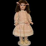 "SALE Gorgeous 25"" 1907 Antique French Bisque Bebe Jumeau Doll Size 10"