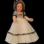 "SOLD RARE 14"" Effanbee Composition Ann Shirley Doll in ORIGINAL BOX circa 1940"