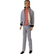SALE 1962 Molded hair Ken wearing The Yachtsman outfit Excellent condition