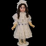 "SALE 28"" Antique French Bisque Doll ""Le Parisien"" Fre A 19 by Jules Steiner c ."