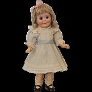 "SALE 16"" SFBJ 245 French Googly doll SFBJ Body Big Blue eyes Head repaired"
