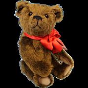 "SALE 12"" R. John Wright ""Woodruff"" Teddy Bear Candy Container Christmas Artist"