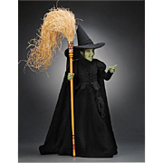 17 inch R. John Wright, Wicked Witch of the West Doll, Wizard of Oz Limited ...
