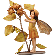 SALE R. John Wright Flower Fairies of the Autumn Doll - The Hazel-nut Fairy