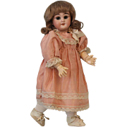 """SALE 10.5"""" Antique Simon & Halbig 749 DEP Doll Made for the French Market"""