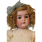 """SALE Antique 24"""" Character Girl Child Doll by Carl Hartmann Germany 1910 """"30"""""""