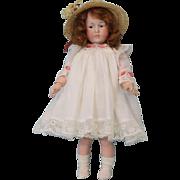 "SALE Petite 8"" Antique K*R Marie 101 German Bisque Character Doll c.1910 Ball JTD  Petit"