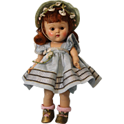 8 inch Painted Lash Vogue Ginny Doll Red Head, Cheryl, From the Tiny Miss Series ...