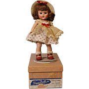8 inch Vogue Ptd Lash 1952 Lucy Ginny Doll Tiny Miss Series Ctr Snap Fuzzy ...
